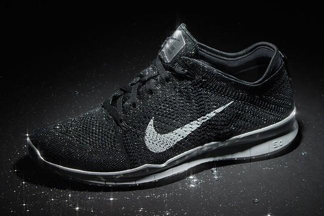 Womens Nike Free TR5 Flyknit Metallic Pack