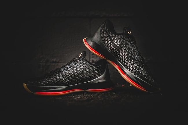 44d31c3a560 Nike KD 8 EXT Black Gum Woven Wonder