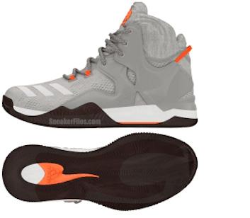 adidas D Rose 7 Grey Orange Brown
