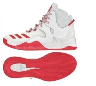D Rose 7 Red And White