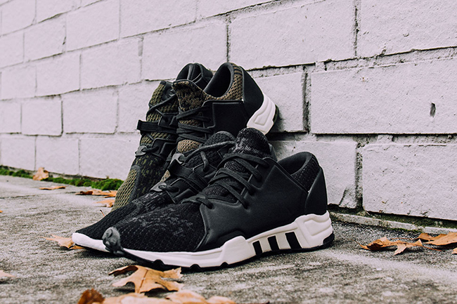 adidas EQT F15 Black Dust Green Pack