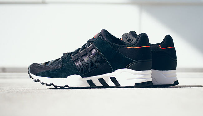 adidas EQT Running Support Black Infrared
