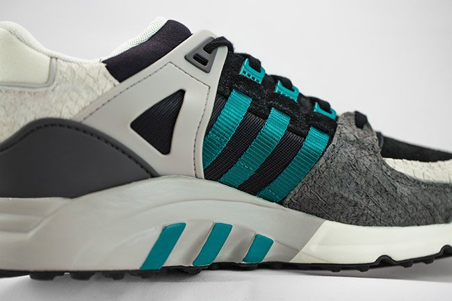 adidas EQT Running Support Snakeskin Racing Green