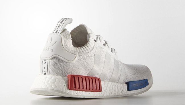 adidas NMD Vintage White Blue Red