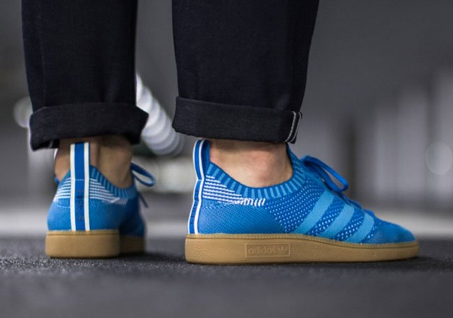 adidas Spezial Primeknit On Feet