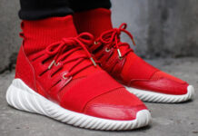 adidas Tubular Chinese New Year Red