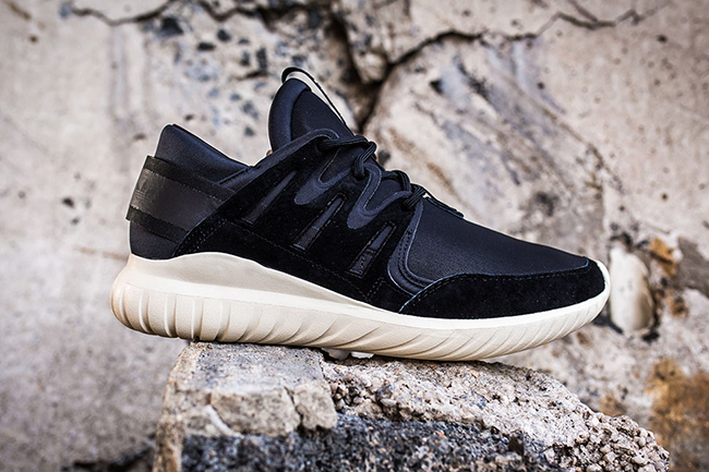 Grey Scale Accents This adidas Tubular Doom