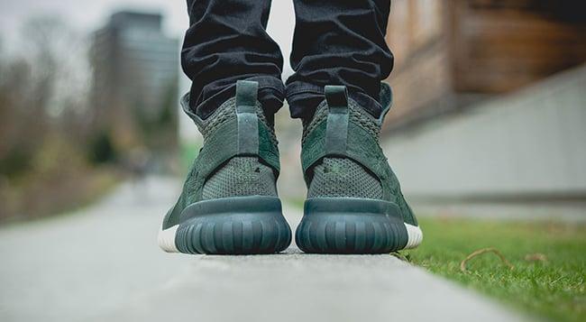 adidas Tubular X Primeknit Shadow Green