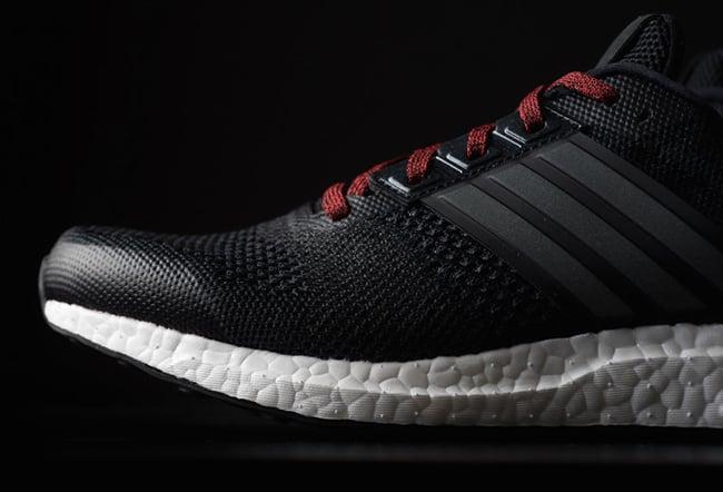 adidas Ultra Boost ST Black Iron Red