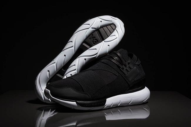 low priced 8ae0e 5c8cc 50%OFF adidas Y 3 Qasa High Black White