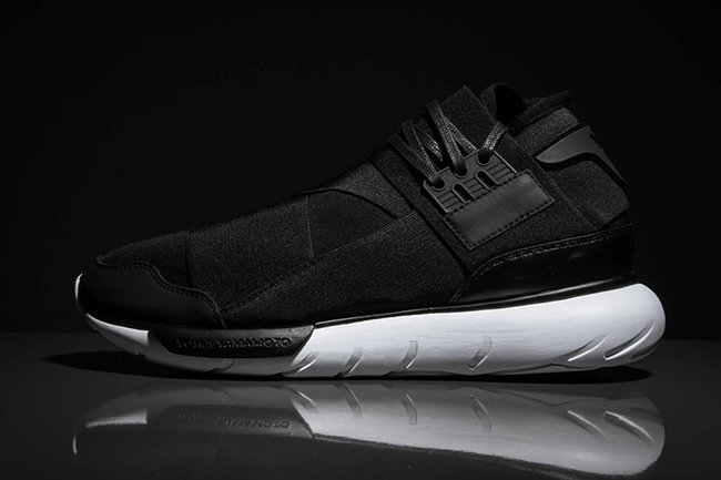 d557b2133cdf1 50%OFF adidas Y 3 Qasa High Black White - flo-orley.com