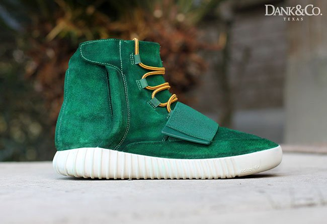 adidas Yeezy 750 Boost Green Custom