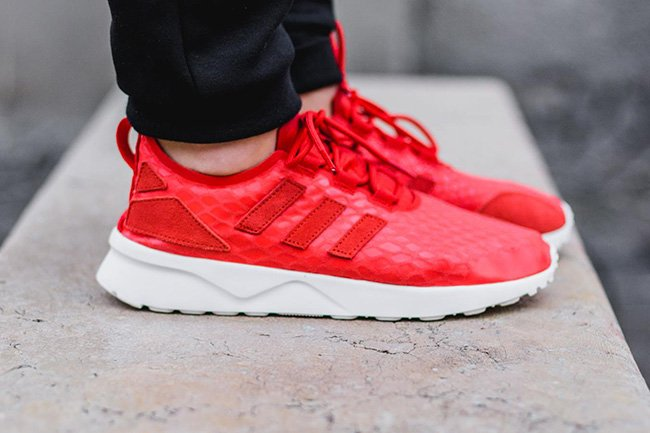 adidas zx flux adv asymmetrical lace up sneakers Roodt Inc