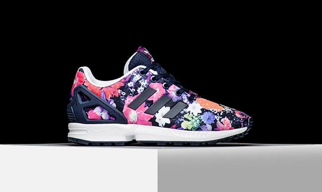 adidas ZX Flux Floral Sound Garden