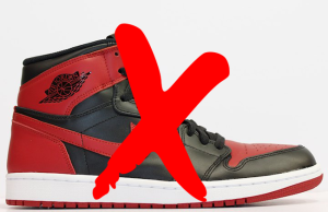 Air Jordan 1 Banned 2016 Release