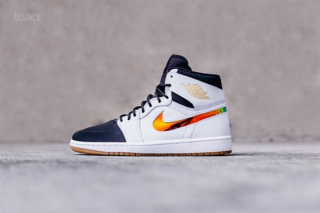 Air Jordan 1 Nouveau White Black Gum Light Brown