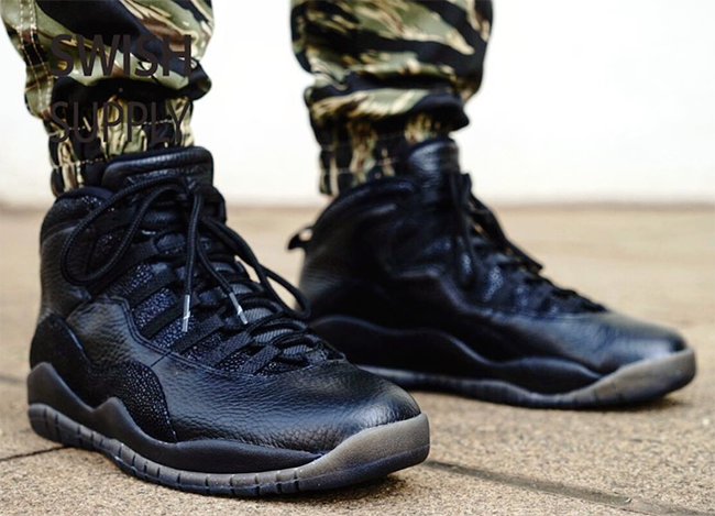 air jordan 10 ovo black stores