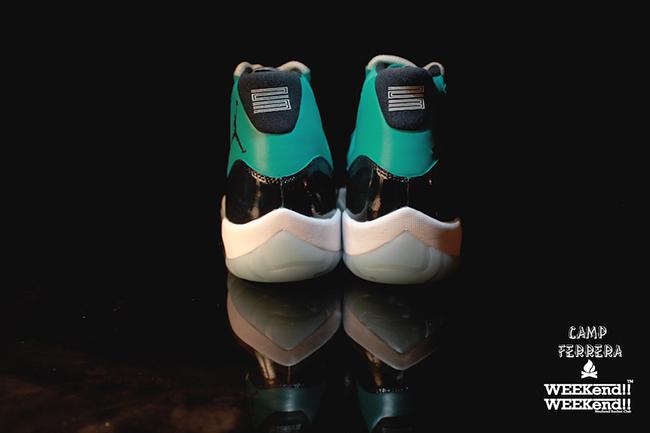 Air Jordan 11 Esmeralda Custom