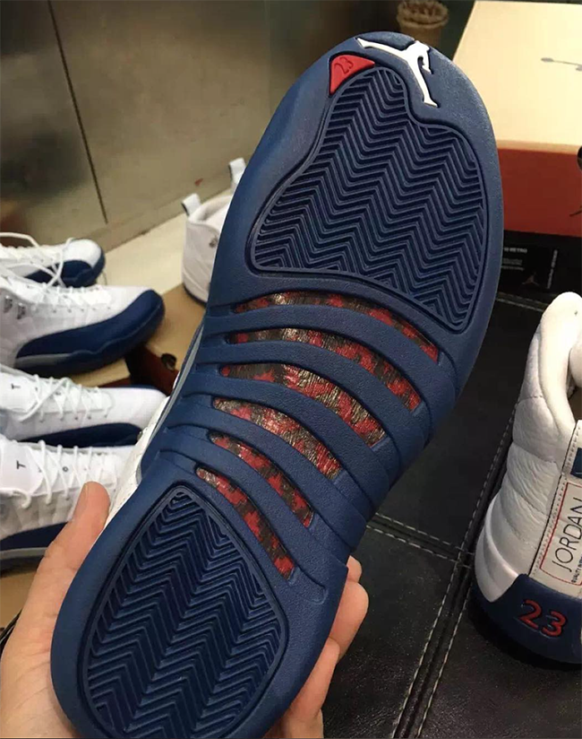 Air Jordan 12 French Blue Retro