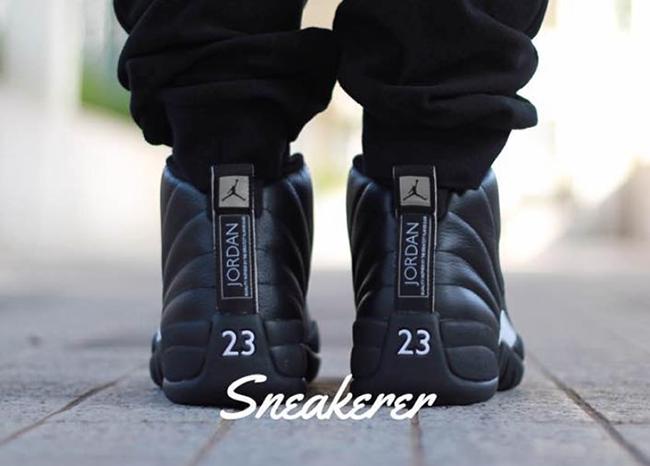 Air Jordan 12 The Master On Feet