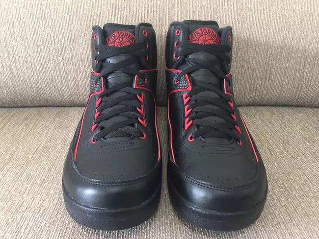 Air Jordan 2 Alternate 87 Black Red