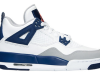 Air Jordan 4 GS Deep Blue White Orange