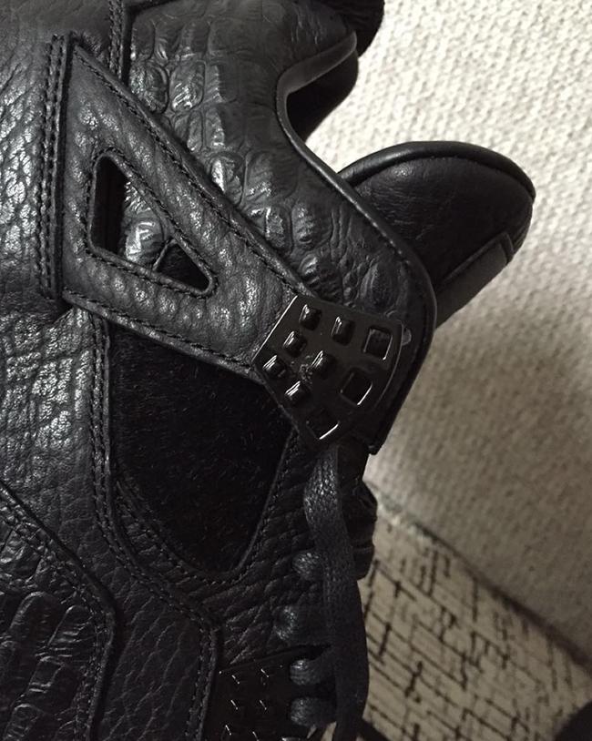Air Jordan 4 Pinnacle Black