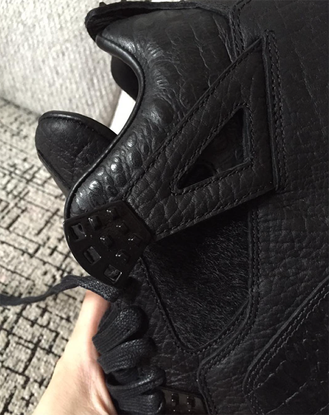 Air Jordan 4 Pinnacle Black