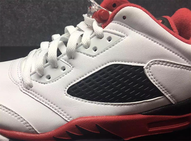 Air Jordan 5 Low Fire Red March 2016