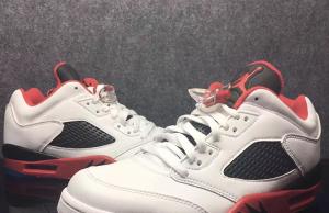 Air Jordan 1 Low Fire Red March 2016