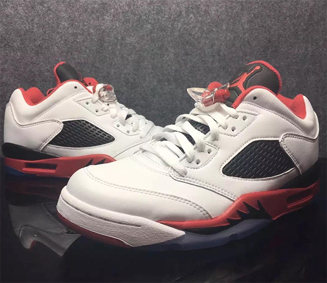 Air Jordan 5 Low Fire Red March 2016