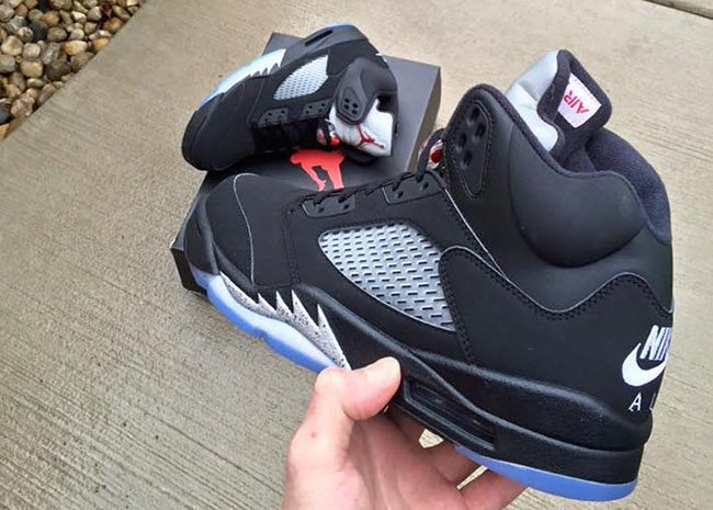 Air Jordan 5 OG Black Metallic Retro