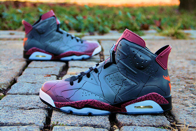 Air Jordan 6 Malphite Custom