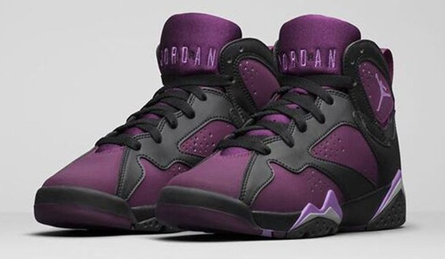 newest collection 5f797 7dce1 Air Jordan 7 GS Mulberry Black