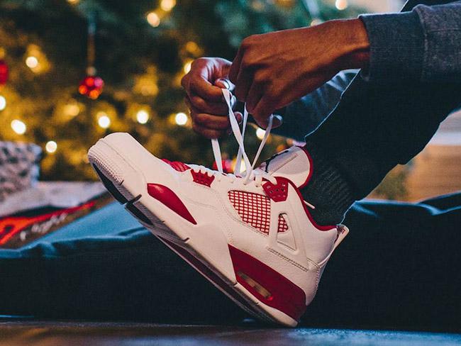 Alternate Air Jordan 4 White Red