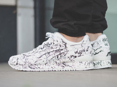 Asics Gel Lyte III Marble Pack On Feet