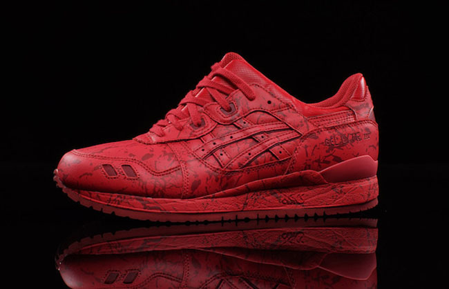 Asics Gel Lyte III Marble Red Pack 4eb434862cca