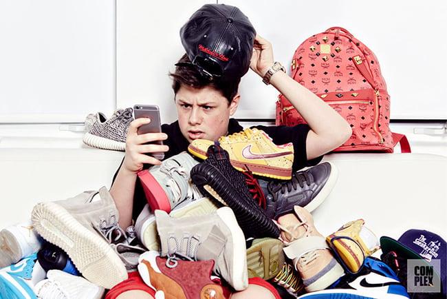Benjamin Kickz Teenage Sneaker Reseller Million Dollars