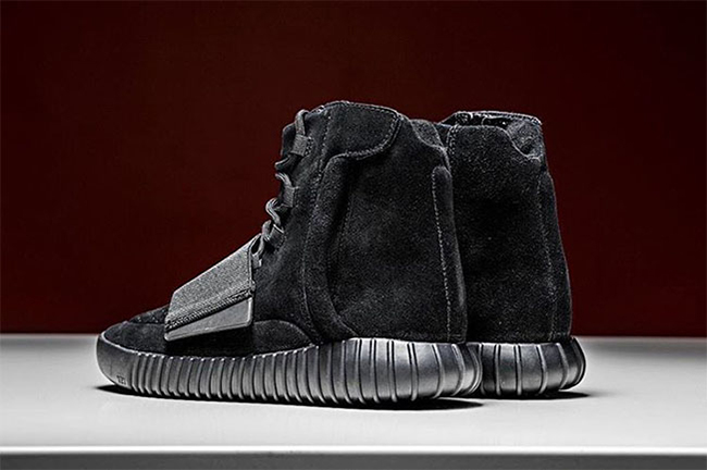 Black adidas Yeezy 750 Boost Christmas