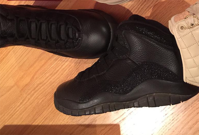 Black Air Jordan 10 OVO All Star