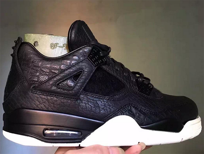 Black Air Jordan 4 Pinnacle 2016