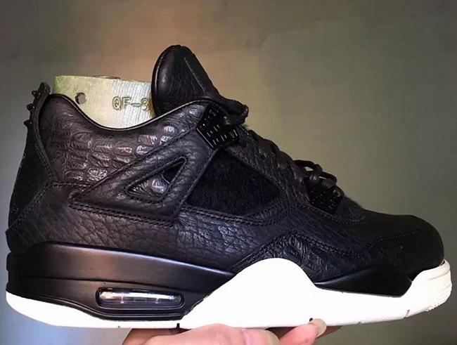 Black Air Jordan 4 Pinnacle 2016