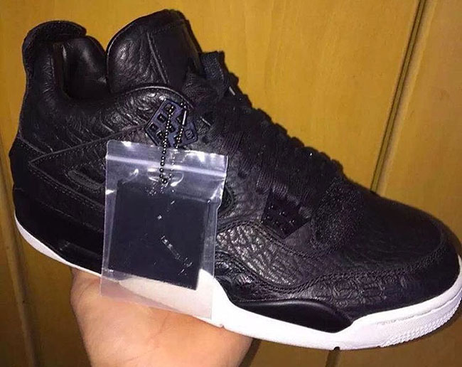 Black Air Jordan 4 Pinnacle