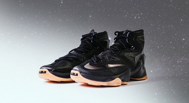Black Lion Nike LeBron 13