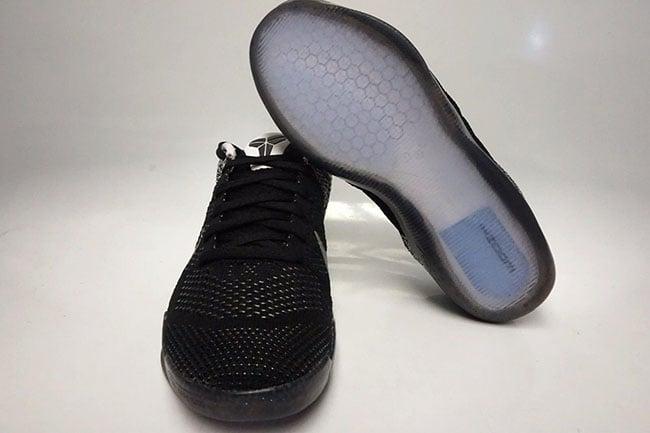 Black White Nike Kobe 11