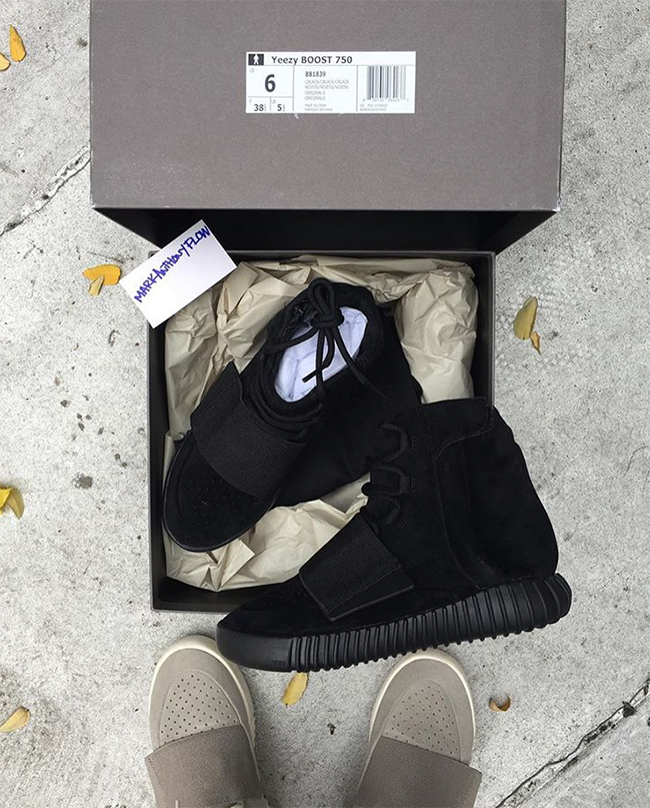 Black Yeezy 750 Boost