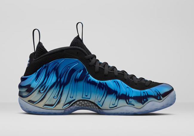 Blue Mirror Foamposite One