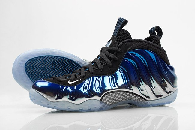 Blue Mirror Nike Foamposite One Release