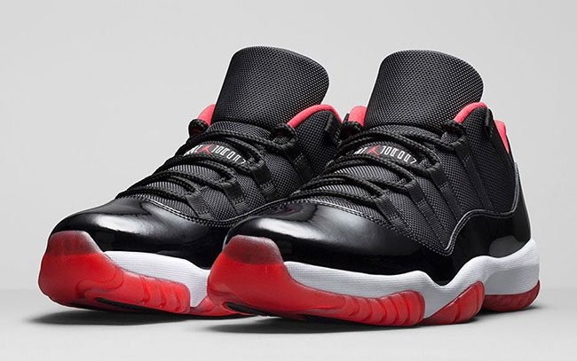 Bred Air Jordan 11 Low Restock NikeStore