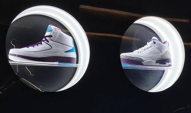 Charlotte Hornets Air Jordan Samples